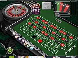 Betfair - Ruleta